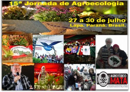 15ª JORNADA DE AGROECOLOGIA